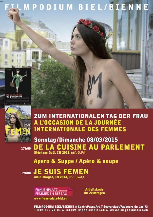 La Journée de la femme à Bienne