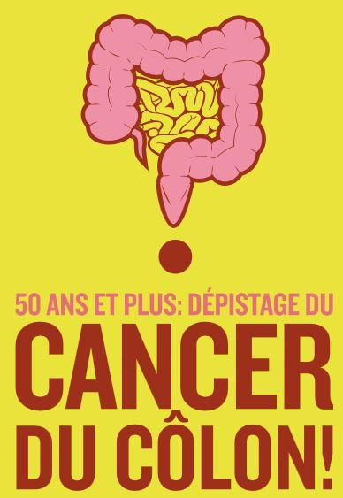 """Résultat de recherche d'images pour """"cancer du colon 50 ans depistage"""""""